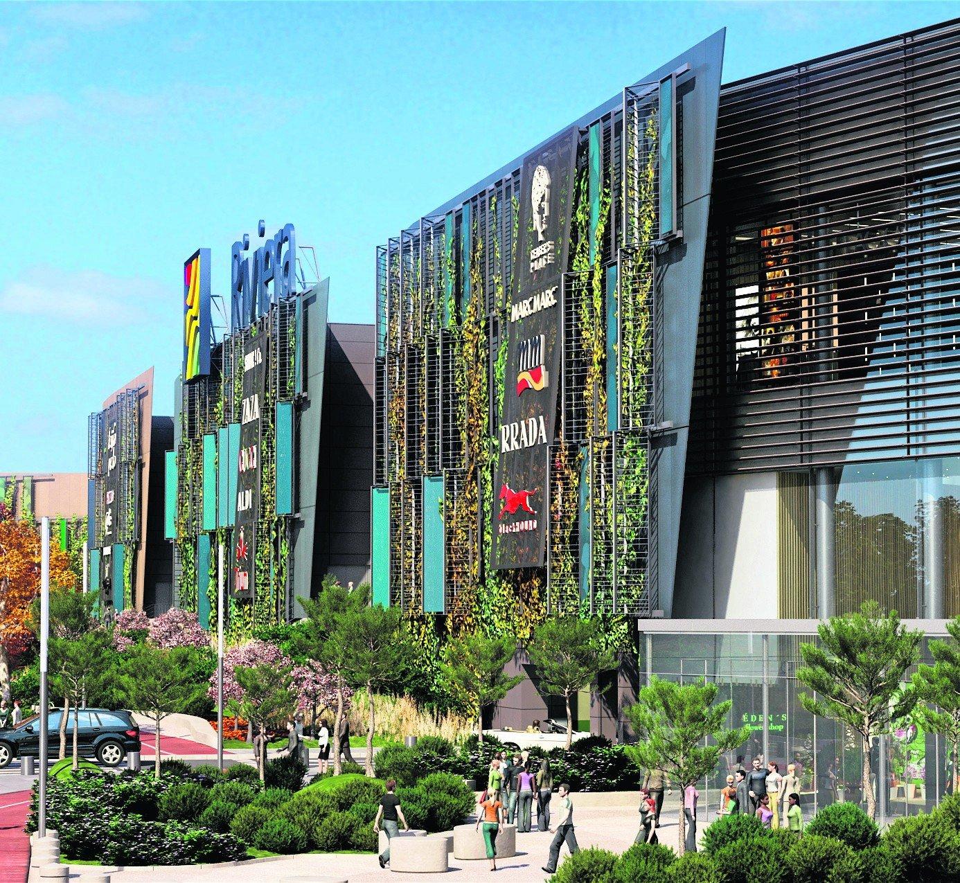 Mapa centrum Centrum Riviera największa galeria handlowa