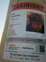 Maxa poszukuje policja i fundacja Itaka [Modo]