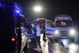 Wypadek na DK 3 w Polkowicach. Osiem osób poszkodowanych.  AKTUALIZACJA