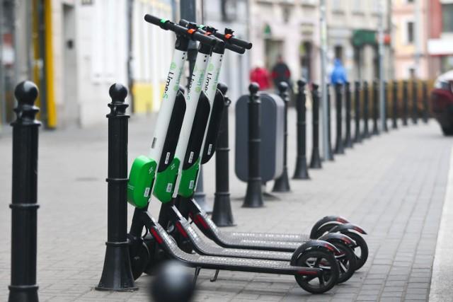 Spowalniacze dla hulajnóg oraz rowerów