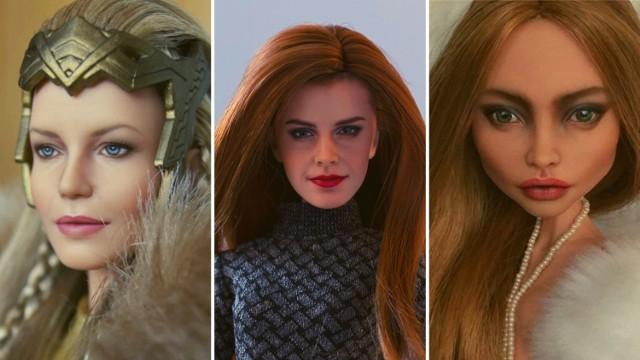 Od lat dyskutuje się o tym, że lalki budują wizerunek idealnej kobiety, choć jest on całkowicie nierealistyczny. W tym kontekście ciekawostką są prace ukraińskiej artystki. Olga Kamenetskaya zajmuje się modyfikowaniem lalek - zmywa z nich makijaż i maluje ich twarze od nowa, w niezwykle realistyczny sposób. Patrząc na zdjęcia jej prac, na pierwszy rzut oka można się pomylić i uznać, że to nie lalki, ale prawdziwi ludzie. Zobacz sam!