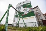 Nowy mural Lechii niedaleko Solidarności