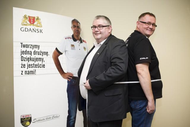 Piotr Kowalczuk i  Jacek Rybak  łącznie ważą aż 286 kilogramów