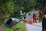 Śmiertelny wypadek na Orawie, nie żyje 19-latek [ZDJĘCIA]