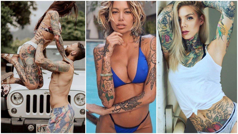Jakim Dziewczynom Pasują Takie Wyzywające Tatuaże Nowa
