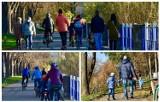 Nowy Sącz. Słoneczne dni sprzyjają spacerom i rowerowym wycieczkom. Tłumy sądeczan na ulicach miasta [ZDJĘCIA]