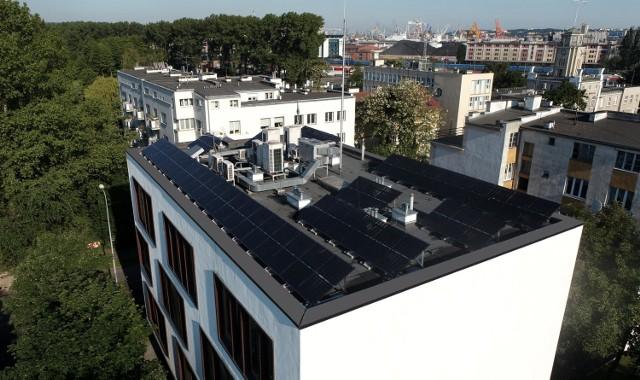 Magazyny na terenie Doliny Logistycznej projektowane będą z uwzględnieniem paneli fotowoltaicznych na dachu.
