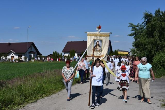 W Mechlinie wierni również uczestniczyli w procesji