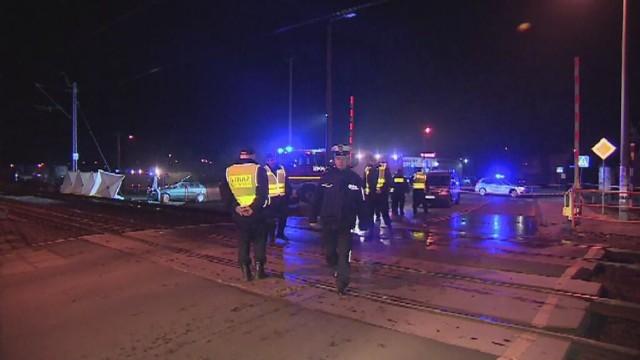 Kobieta zginęła potrącona przez pociąg