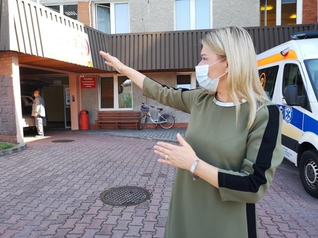 - Dzięki śluzie poprawi się komfort pracy ratowników i przyjmowania pacjentów - zapewnia Jolanta Ryndak, dyrektor szpitala w Ozimku.