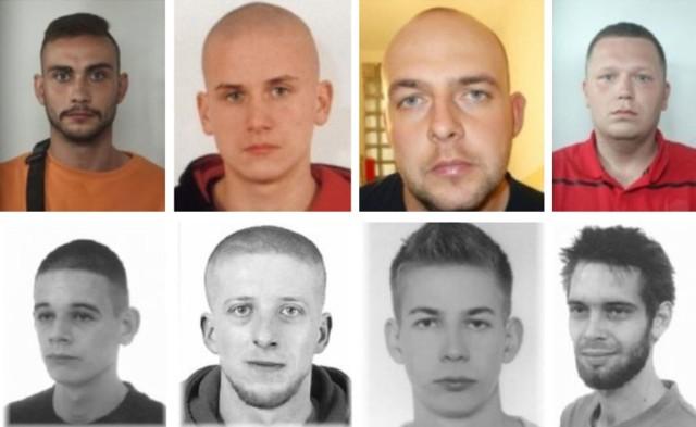 Zdjęcia i dane poszukiwanych pochodzą z policyjnej bazy poszukiwani.policja.pl, dostępne 23 czerwca 2020 roku. Kliknij w kolejne zdjęcie.