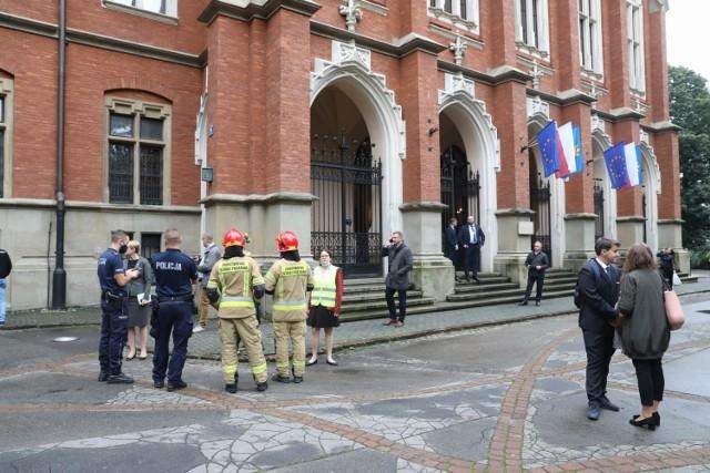 Ewakuacja Collegium Novum