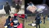 Przejęli narkotyki za ponad 2 mld zł! Nieoficjalnie: Akcję przeprowadzono na terenie gminy Miedzichowo. Zlikwidowano fabrykę kokainy [FOTO]
