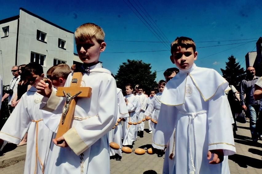 Wierni z parafii Najświętszej Maryi Panny tłumnie zjawili...