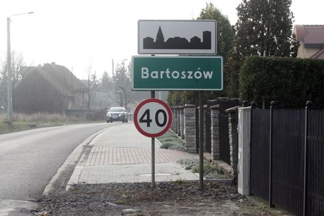 Bartoszów przejezdny tylko do najbliższej niedzieli.