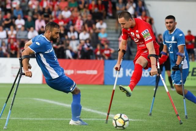14.09.2021, Kraków: mecz ME w amp futbolu Polska - Izrael