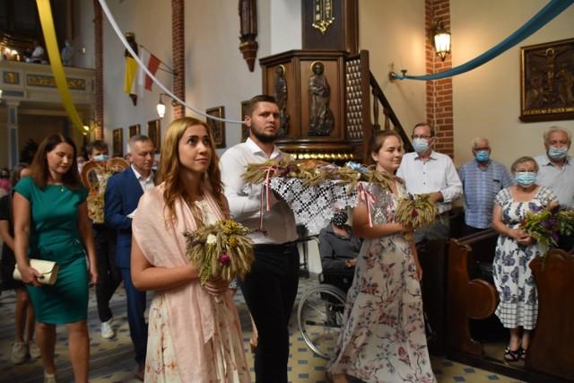 Fara Śrem: odpust w śremskim kościele farnym. Poświęcono chleby oraz wieńce