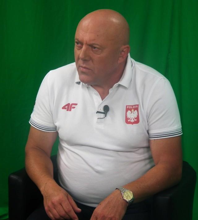 Wiesław Kmiecik - trener Zbigniewa Bródki