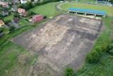 W Myszkowie ruszyła budowa nowego boiska