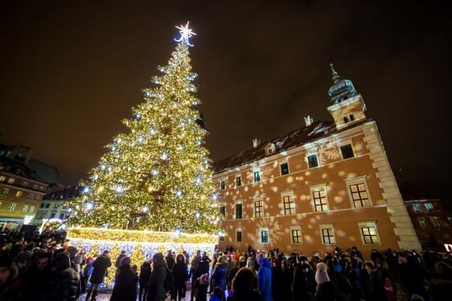 Iluminacja Warszawa 2016. Warszawa rozświetliła się tysiącem świątecznych lampek [ZDJĘCIA]