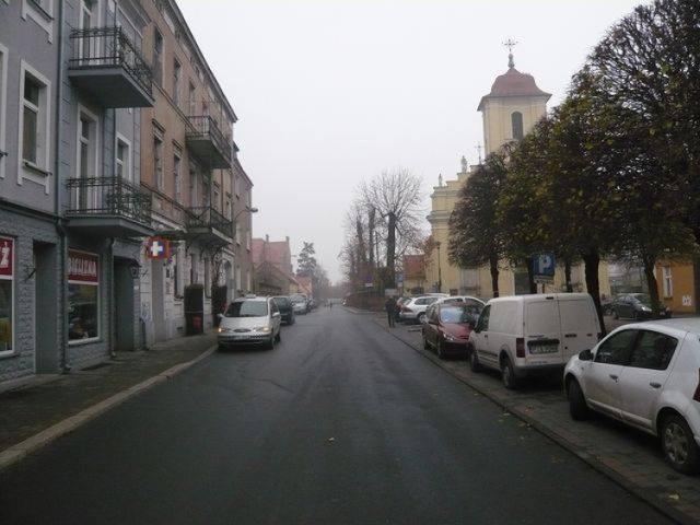 ul. Plac Kościelny w Pleszewie