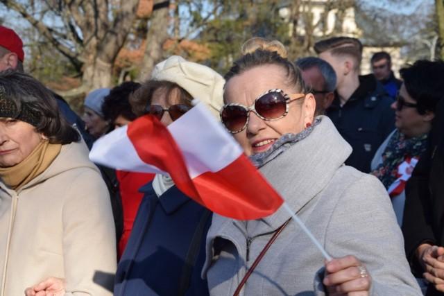 Marsz Niepodległości w Zamościu 2018