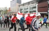 Bieg Konstytucji 3 Maja w Kielcach. Uczestnicy pokonali 1791 metrów (WIDEO, zdjęcia)