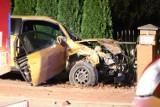 Gm. Nowy Staw. Wypadek z udziałem trzech samochodów w Tralewie. Jedna osoba trafiła do szpitala