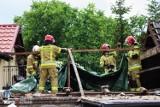 Załamanie pogody - strażacy mieli pełne ręce pracy [ZDJĘCIA]