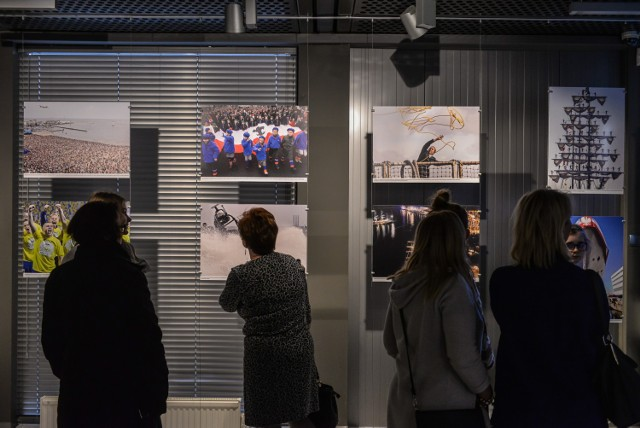 Wernisaż wystawy odbył się w gdyńskim Infoboksie.