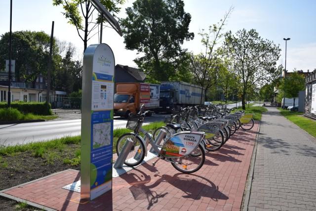 Już można korzystać z Siemianowickiego Roweru Miejskiego