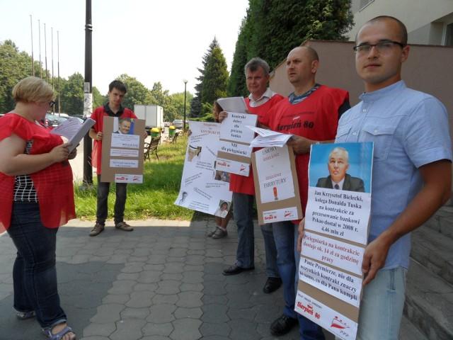 Protest pokolenia śmieciowego w Tychach