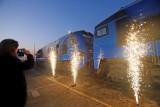 Nowy Jedwabny Szlak z Chin do Polski oficjalnie otwarty ZDJĘCIA. Powitanie transportu z Chin w Sławkowie