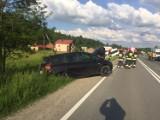 Wypadek na DK 75. Dwie osoby zostały ranne