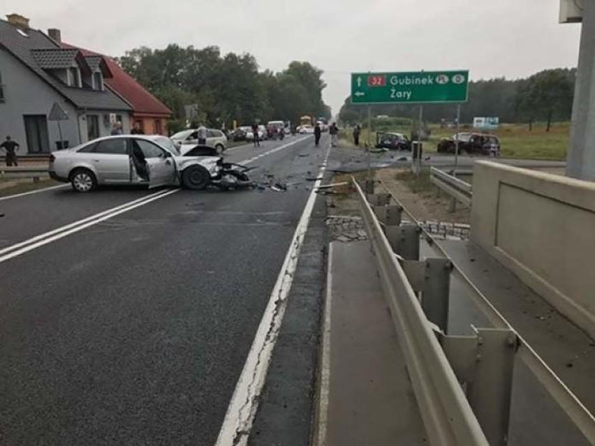 Do wypadku doszło w poniedziałek, 9 września, na moście przy...