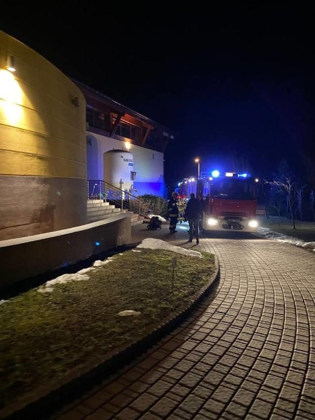 Pożar w hotelu Malinowy Zdrój w Solcu Zdroju, w którym przebywała Krystyna Pawłowicz