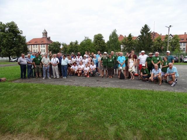 Uczestnicy spływu spotkali się i odprawieni zostali, tradycyjnie, w Chełmnie