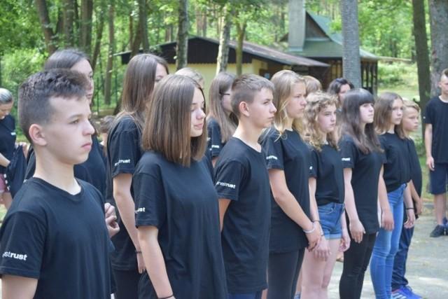 I Obóz Młodzieżowych Drużyn Pożarniczych Powiatu Oleskiego w Turawie.