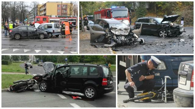 Na kolejnych zdjęciach zobaczysz, na których ulicach w Gorzowie dochodzi do największej ilości wypadków i kolizji.