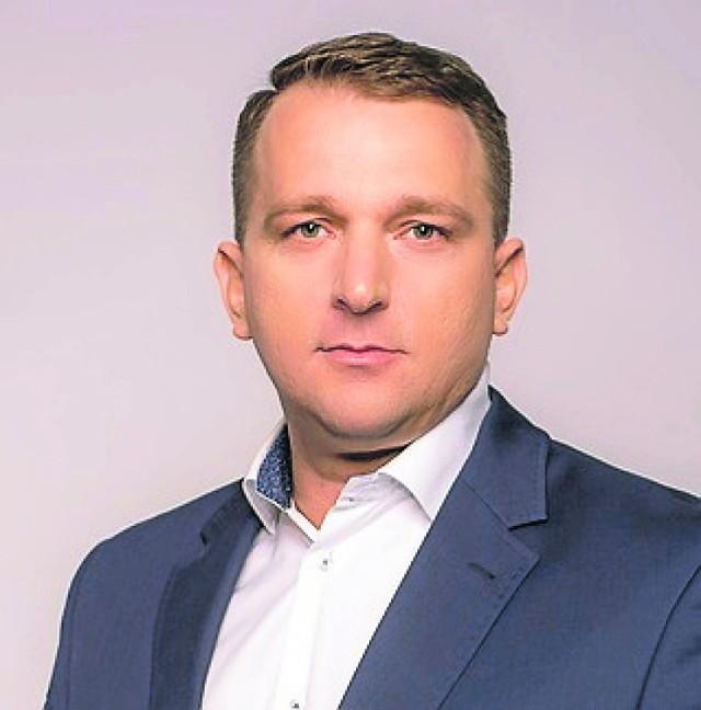 Prezes spółki Przemysław Cichosz