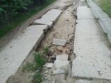 Lubochnia: droga na plaże w dramatycznie złym stanie