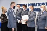 Święta Policji w Lęborku. Policjanci otrzymali odznaczenia i awanse