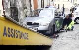 Kraków: wzrosną opłaty za holowanie auta
