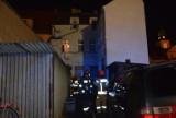 Wieczorny pożar w samym centrum Międzyrzecza. Płonęło mieszkanie
