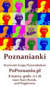 8 marca w Poznaniu - Śladem znanych poznanianek!