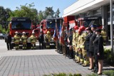 Straż Pożarna Śrem: uroczystość przekazania wozów dla OSP Chrząstowo, Niesłabin i Wyrzeka