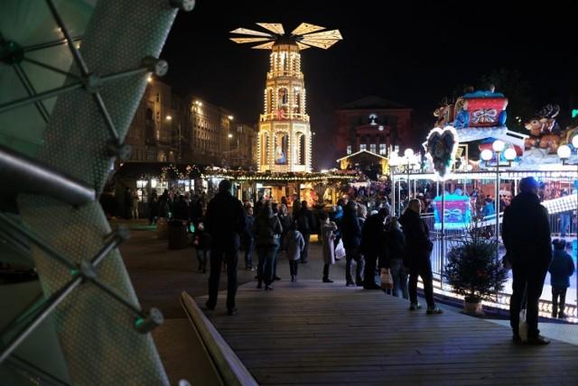 Na placu Wolności panuje świąteczny klimat