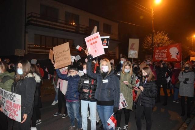 Strajk Kobiet w Wieluniu. Dziś kolejny protest