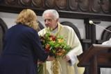 55-lecie kapłaństwa księdza Andrzeja Rygielskiego, wieloletniego proboszcza parafii pw. św. Wojciecha w Wągrowcu