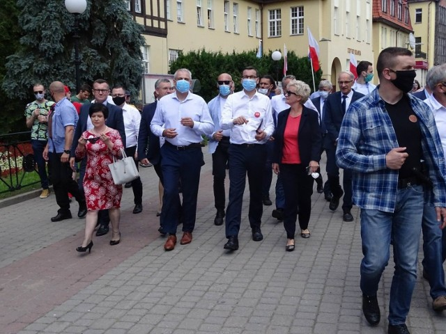 Mateusz Morawiecki w Chełmnie spotkał się z samorządowcami i mieszkańcami Chełmna i powiatu